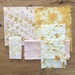 'Root & Bloom' Naturally Dyed Fibre/ Fabric Pack