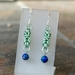 Chainmail earrings: Planets
