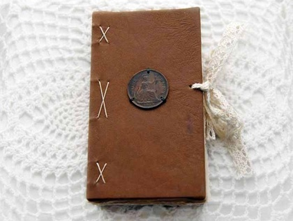 Recycled Shabby Chic Journal - Donated by Bibliographica