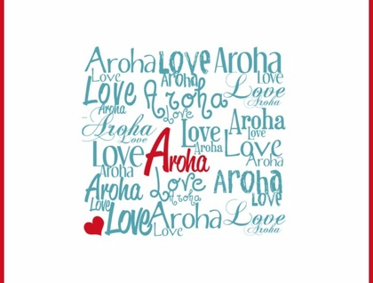 Aroha Print - Donated by Fantail Digital Art