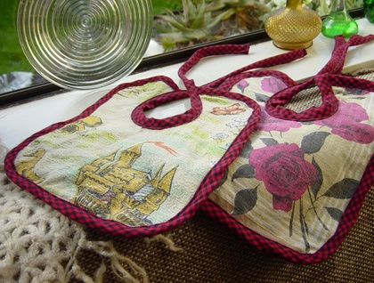 Reversible Bibs (2) - Donated by atticusfinch