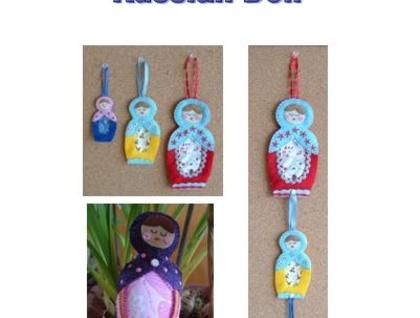 PDF Email Pattern - Russian/Matryoshka Doll - Donated by lisajhoney