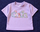 Unique 'Chch' Baby Applique Shirt - Donated by Greta Bertenshaw Topography