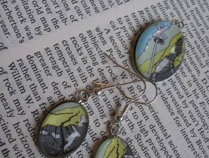 Earthquake Earring and Pendant Boxed Set - Cat Goodman - Phersu Dancing Jewellery