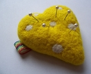 Needle Felted Pin Cushion Donated by Roscia