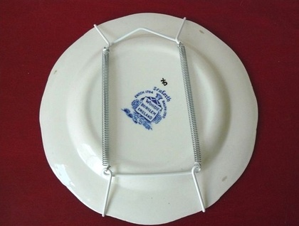 Ghetto willow style plate - donated by trixiedelicious