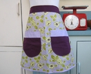 BellaApron - PrettyPurple - Donated by Bella Threads