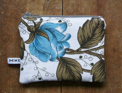Blue Roses Always Hide Wallet - Donated by little minx