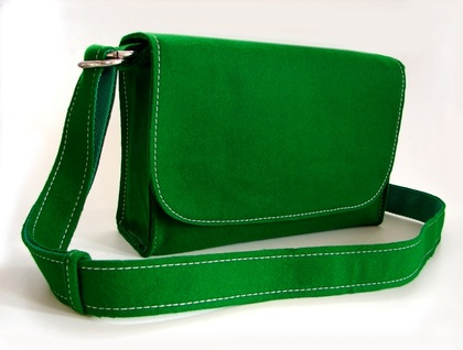 Pool Table Messenger Bag - Pool Hall Green - Donated by LuxfordSt