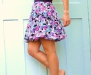 Zing Print Circle Skirt - Donated by Marian Smale
