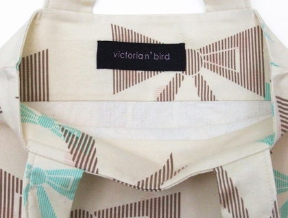 Bow Tote Bag - Donated by Victoria'n'bird