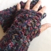 Bramble Lacy Shell Crocheted Fingerless Gloves - Donated by JacBer Creations