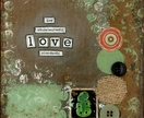"Love - 6x6"" art print - Donated by Erin Carver"