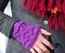 Ami Ana Knit Honey Comb Cuffs PDF PATTERN ONLY - Donated by Ami Ana
