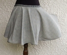 Grey Circle Skirt - Donated by Marian Smale