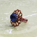 Blue Filigree Ring - Donated by flameRED