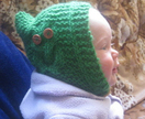 OWL be in the Hood - Knit Baby Owl Hood UNISEX PDF PATTERN ONLY - Donated by Ami Ana
