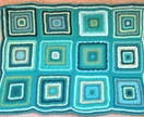 Teal Crocheted Baby Blanket - Donated by Octopusgrrl Designs