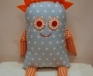 Morgan -  soft toy monster - Donated by mushymoo