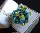 Handmade Kanzashi Ring - Donated by natasya