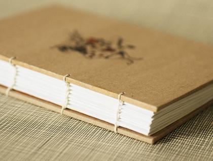 The White Rabbit Coptic Bound Journal - Donated by Honey Design