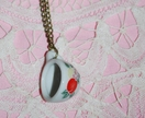 """time for tea"" necklace - donated by mollyandme"