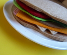 Felt food- sandwich - Donated by alysandfelix