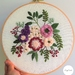 """Hand Embroidery full kit """"Secret Garden"""" pattern"""