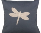 Cushion - Blue Dragonfly