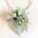 Necklace:  Celadon Silver
