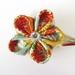Tsumami kanzashi flower hairclip