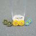 Crochet Stud Earrings - Free Shipping
