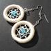 Earrings Crochet- Free Shipping