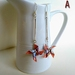 Earrings Origami Windmill (Kazaguruma)