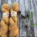 Natural dyed CLARA NZ Merino/nylon sock yarn - golden brown