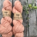 Natural dyed NZ Merino FLORA 4-ply machine washable - Pink blush