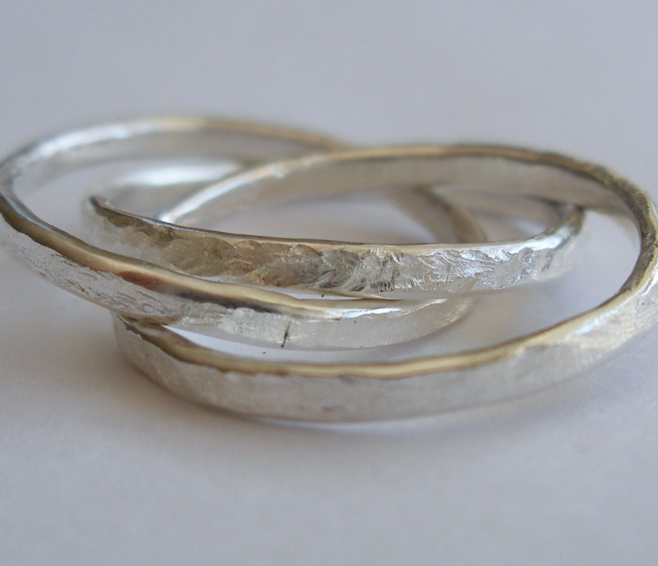 Interlocking Russian Wedding Rings