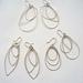 Silver Strand earrings