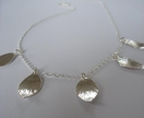Tear drop,Disc or Little Leaves Necklace