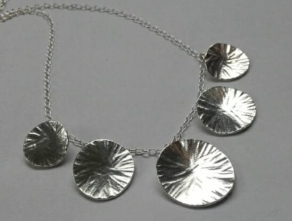 Lilypad necklace