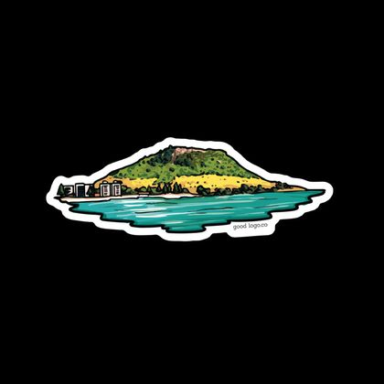 The Mount Maunganui Sticker