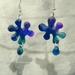 Splat earrings!