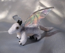 Needle felted baby dragon - Custom