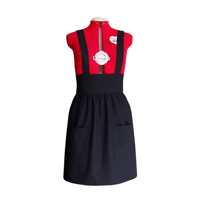 how to make a pinafore dress for a child