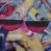 Dusk Hoops - Neon Pink/Dark Grey