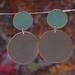 Polkadots - Turquoise/Light Grey
