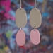 Double Drops - Sand/Dusk Pink