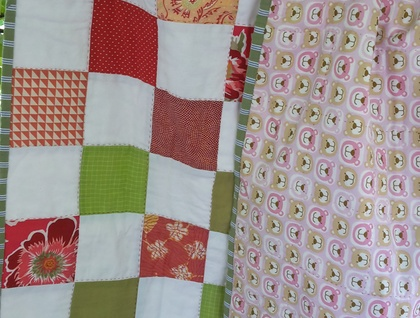 Quilt for baby – spring is sprung!