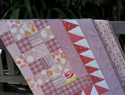 Quilt – pinks galore!