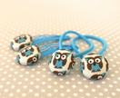'Hoot' Owl Hair Ties or Clips